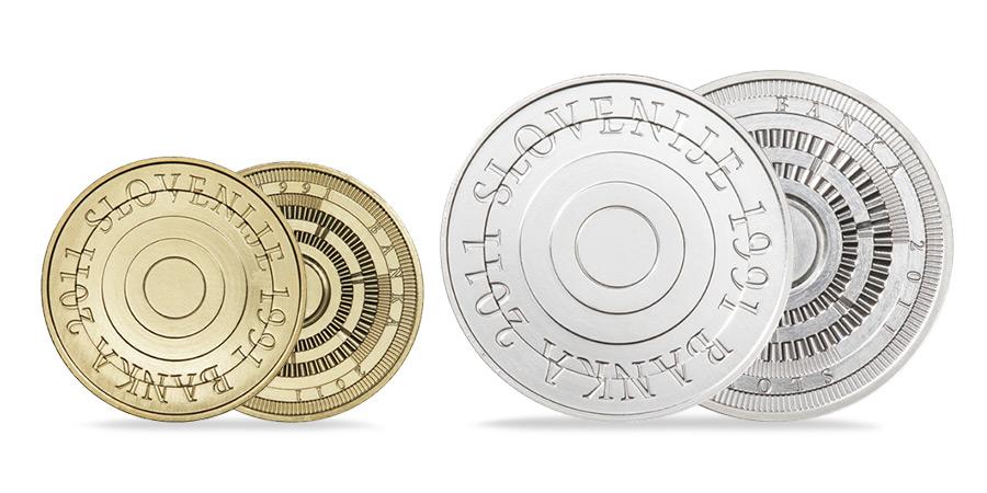 Glasujte za likovno rešitev za medaljo ob 30. obletnici Banke Slovenije