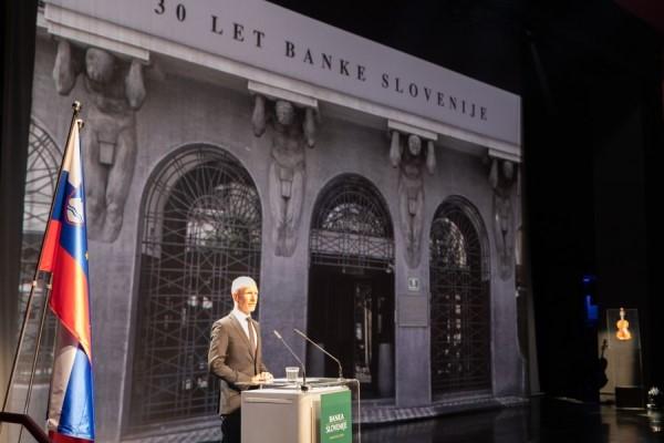 30. obletnico Banke Slovenije smo obeležili s slavnostno akademijo