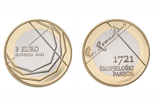 Z 12. majem bodo v prodaji zbirateljski kovanci ob 300. obletnici Škofjeloškega pasijona