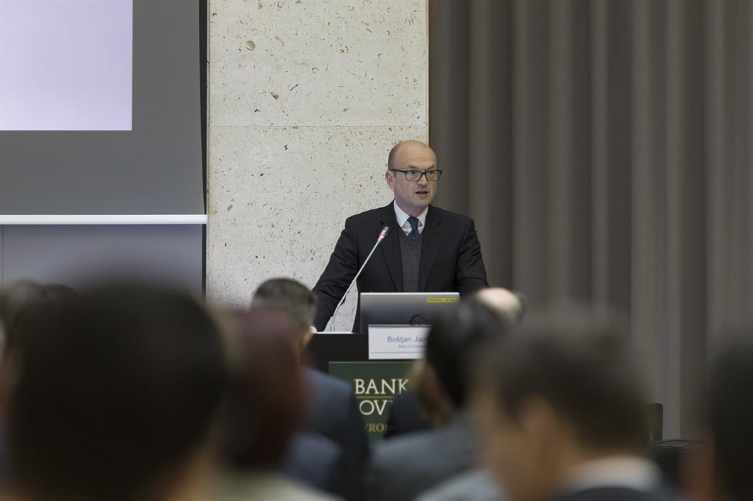 Boštjan Jazbec, guverner Banke Slovenije