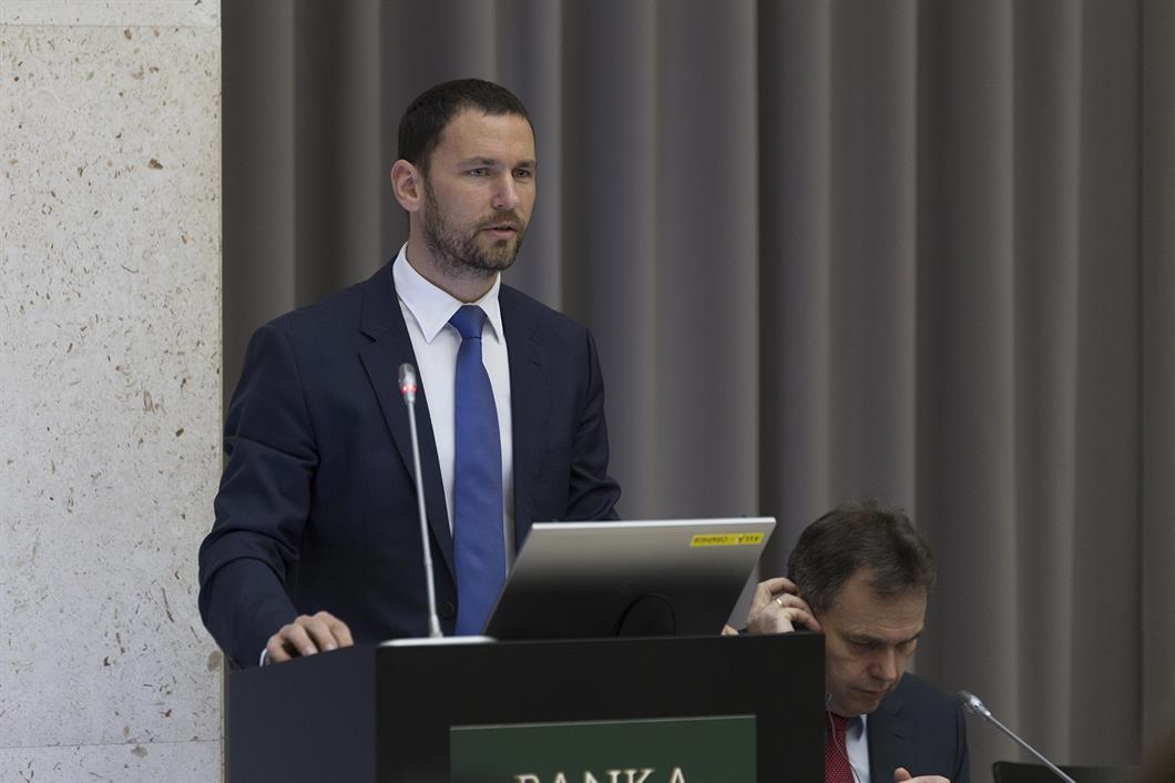 Primož Dolenc, namestnik guvernerja Banke Slovenije