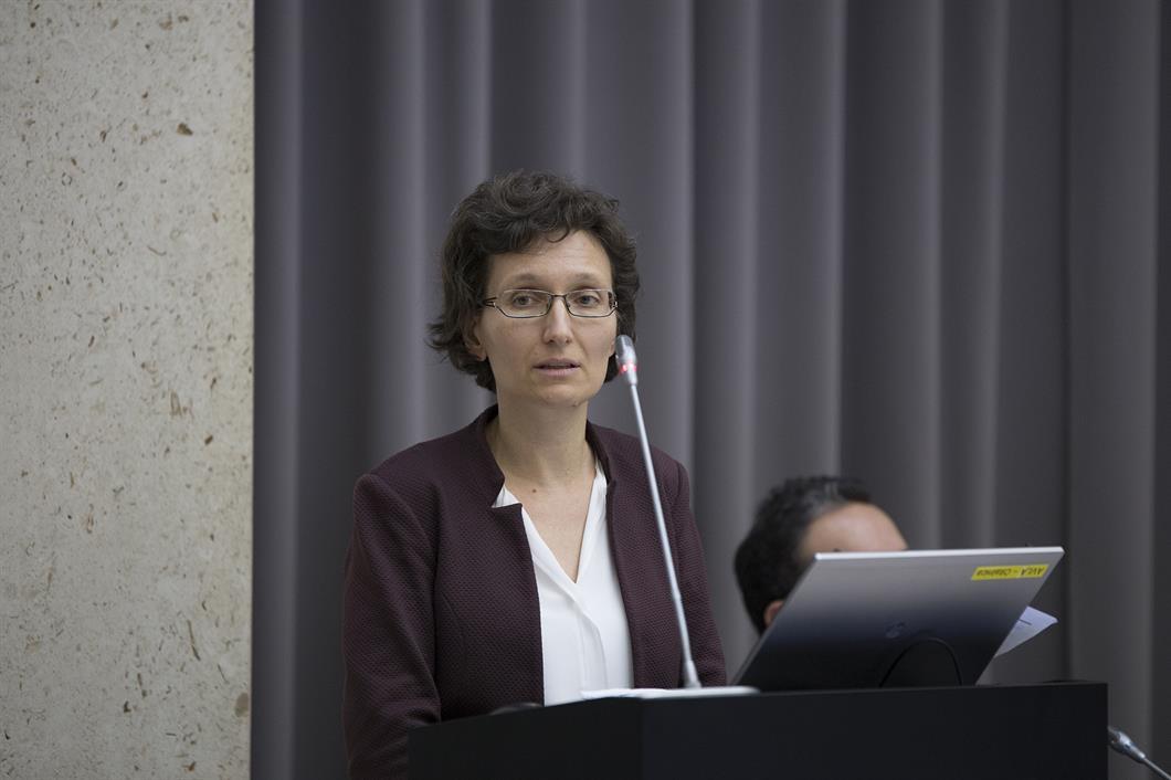 Damjana Iglič, direktorica, Sistemski nadzor in regulativa, Banka Slovenije