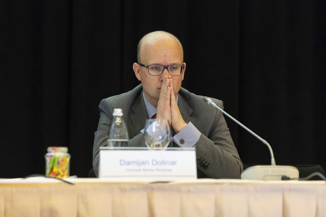 Damjan Dolinar, member of the management board, UniCredit Bank